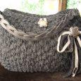 Borse in fettuccia di lana