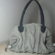 Borse lavorate a maglia
