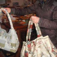 Come fare una borsa in tessuto