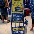 Ryanair bagaglio a mano e borsa