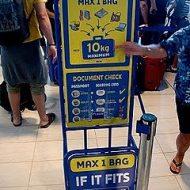 Ryanair borsa e bagaglio a mano