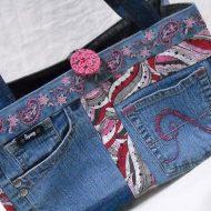 Borsa jeans fai da te