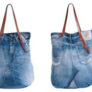 Borsa jeans replay