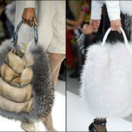 Borse di pelliccia fai da te