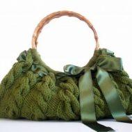 Borse fatte a maglia