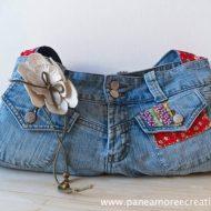 Borse fatte con i jeans
