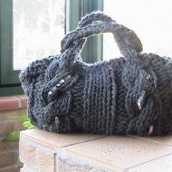 Borse in lana fai da te