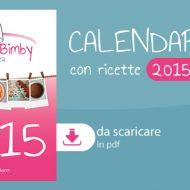 Calendario bimby 2015