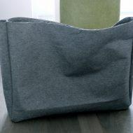 Come fare una borsa di stoffa rigida