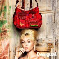 Desigual borsa rossa