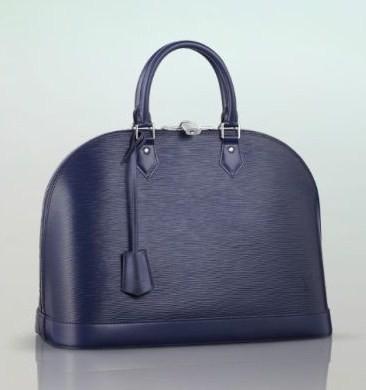 borsa louis vuitton blu