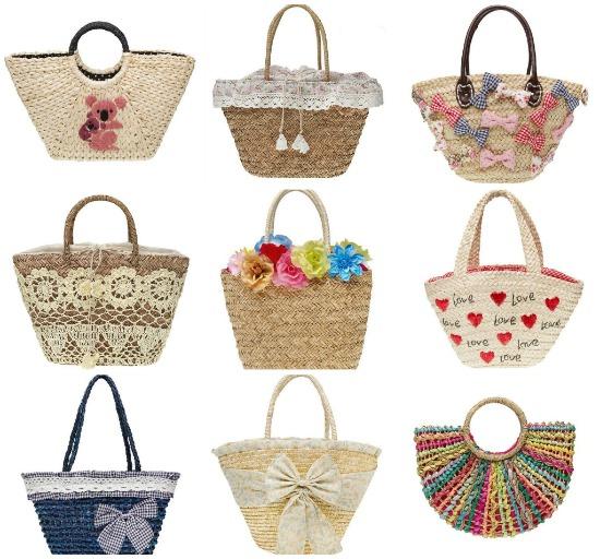 borse di paglia on line