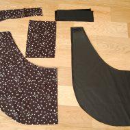 Borse di stoffa fatte a mano cartamodelli