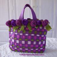 Come realizzare una borsa in feltro